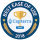 Capterra ease of use badge