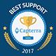 Capterra customer support badge